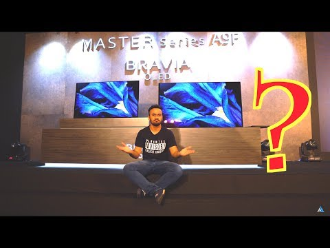 Sony Bravia A9F OLED hands on REVIEW Master Series KD65A9F/KD55A9F