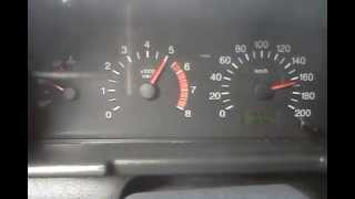 ВАЗ 2112    Разгон до максимальной скорости