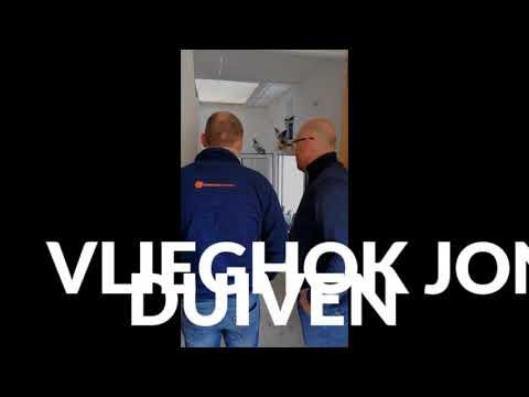 Video Bert Penne op bezoek bij Stefan Steenbergen, Herk-de-Stad,België.