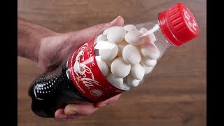 11 CRAZY COCA-COLA EXPERIMENTS AND LIFE HACKS!