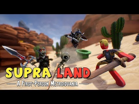 Supraland Gameplay Impressions - Open World Action Stick Fighting!