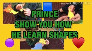 LEARNING SHAPES || LITTLE PRINCE