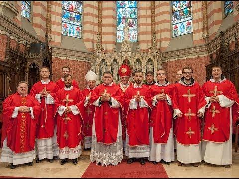 Kardinal osmoricu đakona zaredio za svećenike
