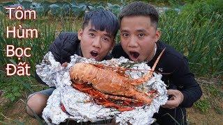 Hưng Troll | Tôm Hùm Bọc Đất Siêu Cay | Grilled Lobster