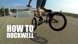 How to Rock walk (Как сделать рок волк на BMX, MTB) | Школа BMX Online #7 [Дима Гордей]