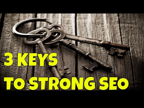 3 Keys to Strong SEO and a Page 1 Google Ranking | The Game Has Changed