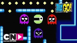 Игры   Юные титаны, вперед!   Cartoon Network