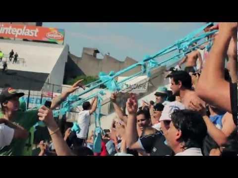 """torneo inicial 2012 - Fecha 11- All Boys 1 vs, BELGRANO 0. Final del Partido. LA HINCHADA DEL PIRATA"" Barra: Los Piratas Celestes de Alberdi • Club: Belgrano"