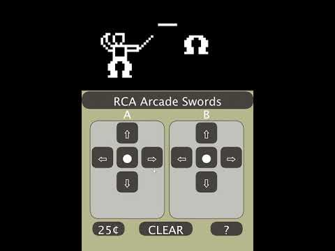Oglądaj: Swords - RCA Arcade Game