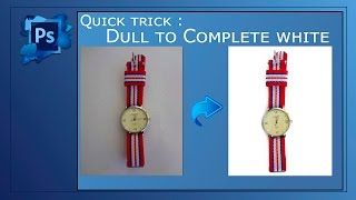 Plain white background in Photoshop | Tutorial for e-commerce