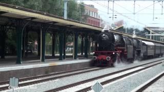 preview picture of video 'Stoomlocomotief 23 076 + 52 3879 te 's-Hertogenbosch 25 augustus 2014'
