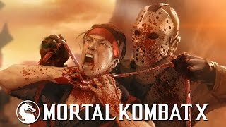 Mortal Kombat X - Jason ENDING [1080p] TRUE-HD QUALITY