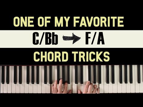 One of My Favorite Piano Tricks