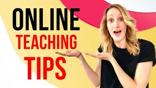 Teaching Tips For Online ESL Teachers