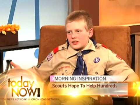 12 Year Old Boy Scouts Offer To Give Breast Exams