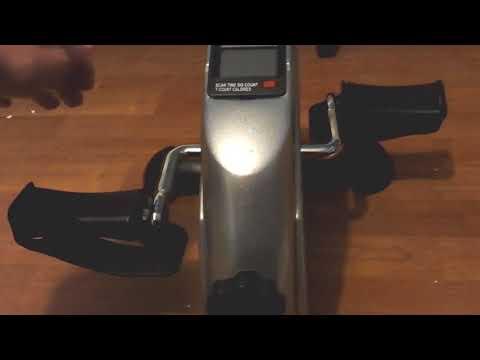 Pinty Mini Exercise Bike Pedal Exerciser Gym Fitness Leg & Cardio Training review