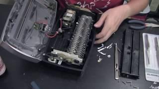 Cross-cut Paper Shredder Teardown and Repair