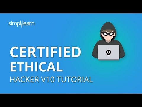 Certified Ethical Hacker V10 Tutorial | CEH V10 Training Video | CEH