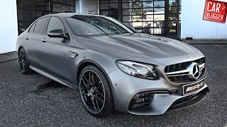 INSIDE the NEW Mercedes-AMG E63 S 4MATIC+ | Interior Exterior DETAILS w/ REVS