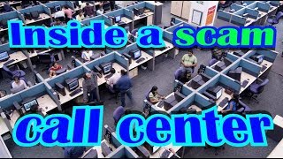 Inside A Scam Call Center