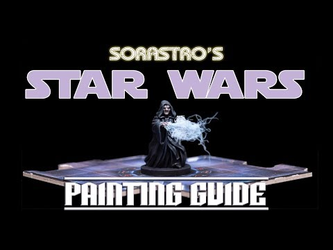 Sorastro's Star Wars Imperial Assault Painting Guide Ep.48: Emperor Palpatine