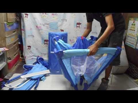 HOW TO ASSEMBLE A PLAYPEN / CRIB ? PART 1