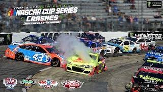2017 NASCAR Cup Series Crashes (Martinsville-Richmond)