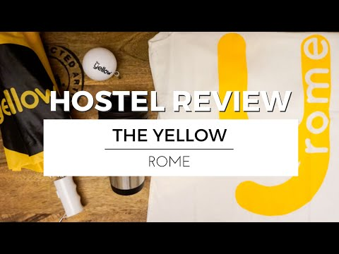 Visiting ROME with THE YELLOW | HOSTEL REVIEW TRAVEL VLOG #Ad
