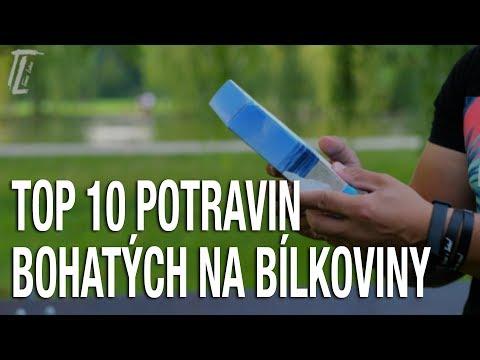 TOP 10 POTRAVIN BOHATÝCH NA BÍLKOVINY / PROTEINY