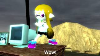 Splatoon GMOD: A Teeny Tiny Inkling