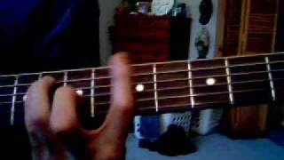 """How to play """"The General"""" by Dispatch  on guitar"""