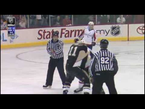 Matt Pettinger vs. Jordan Staal