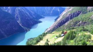 DJI Phantom 4k - Valleys, Mountains and Fjords of Norway