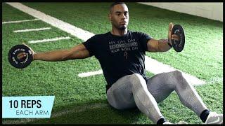 【毎日の補強に!】NFL選手が行うコア強化サーキット