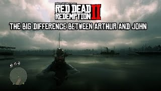 Red Dead Redemption 2 - The Big Difference Between Arthur and John [SPOILERS]