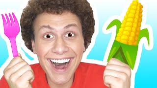 Yes Yes Vegetables Song + more | Canciones Infantiles | LaSongs Español