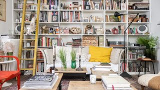 Tour Retro Eclectic Home (French Style) ▸ Interior Design