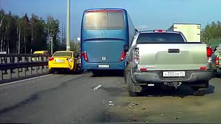 Аварии на дорогах, приколы на дороге 2018 2