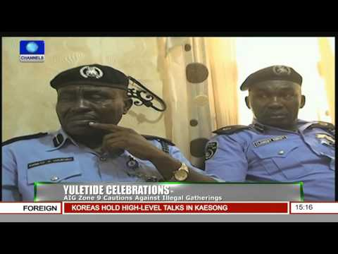 News Across Nigeria: Police Command Parades Kidnappers, Arms Dealer In Oyo 11/12/15 Pt 2