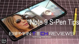 Samsung Galaxy Note 9 S Pen - THE ULTIMATE GUIDE WHAT'S NEW & WHAT NOT!