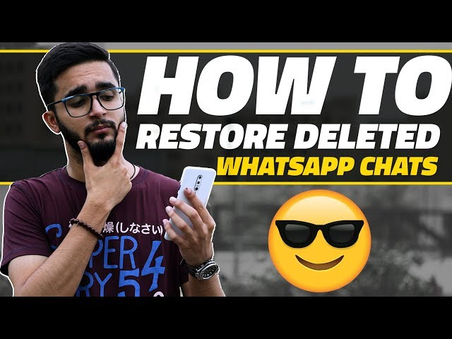 How to Recover Deleted WhatsApp Messages | NDTV Gadgets360 com
