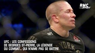 UFC : Les confessions de Georges St-Pierre, la légende du combat... qui n'aime pas se battre