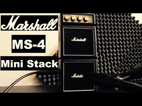 Marshall MS-4 Mini Stack Amp  Review
