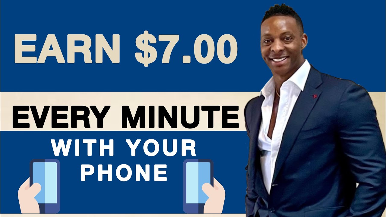 Make $7.00 Every 1 Minutes With Your PHONE|Free Paypal Cash|Generate Income Online 2021 thumbnail