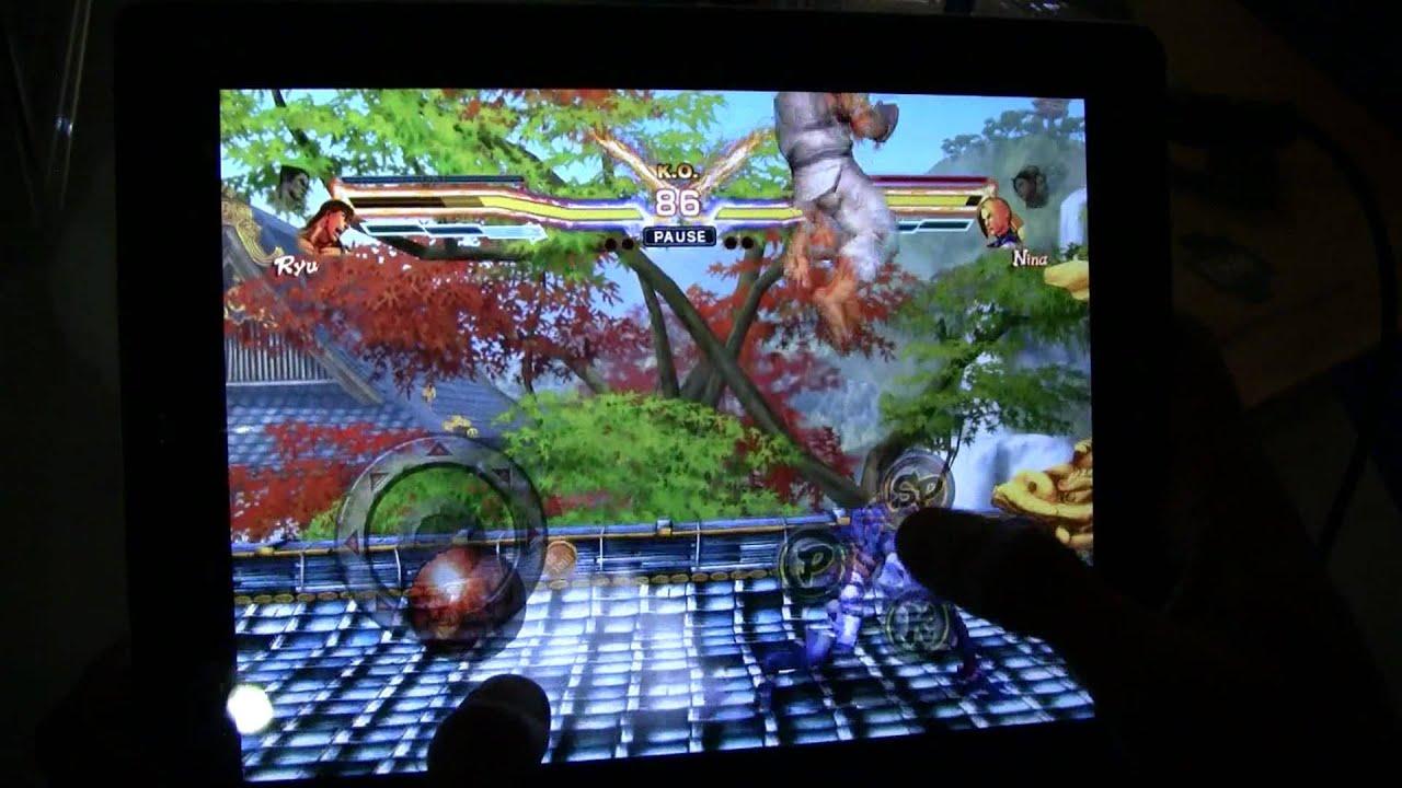 Watch Street Fighter X Tekken Beat Up The iPad