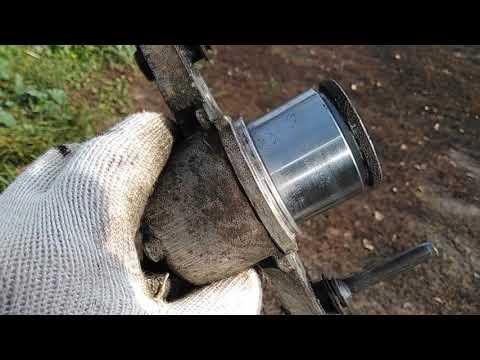 Замена пыльников тормозного цилиндра суппорта  ВАЗ