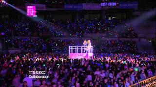 【TVPP】SNSD-TTS - DJ Got Us Fallin' in Love (with EXO) @ Korean Music Wave in Seoul Live