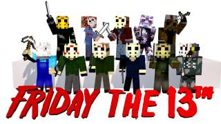 FRIDAY THE 13th Tous Les Skins Minecraft