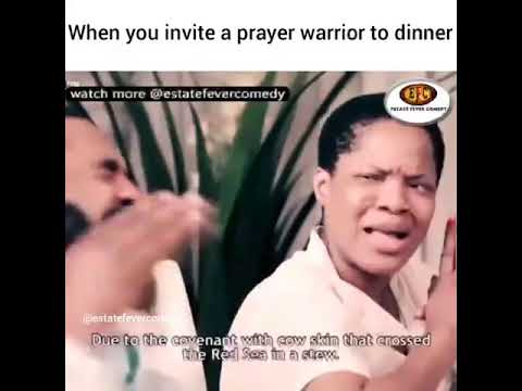 How to pray before eating by Woli Arole the Prophet with a Call!