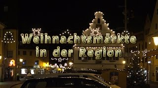 preview picture of video 'Weihnachtsmärkte in der Region'